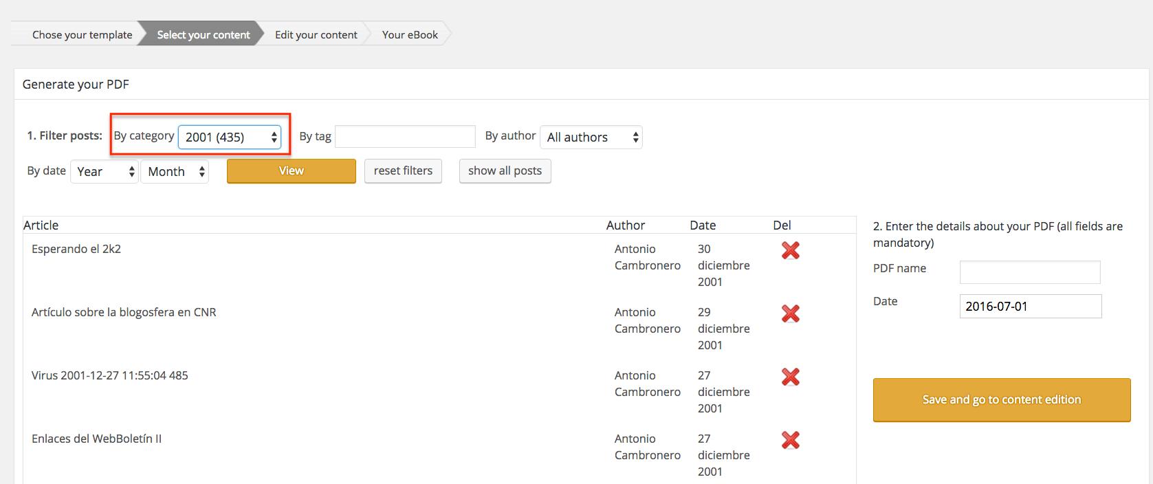 Cómo crear un ebook PDF a partir de tu blog - La guía definitiva