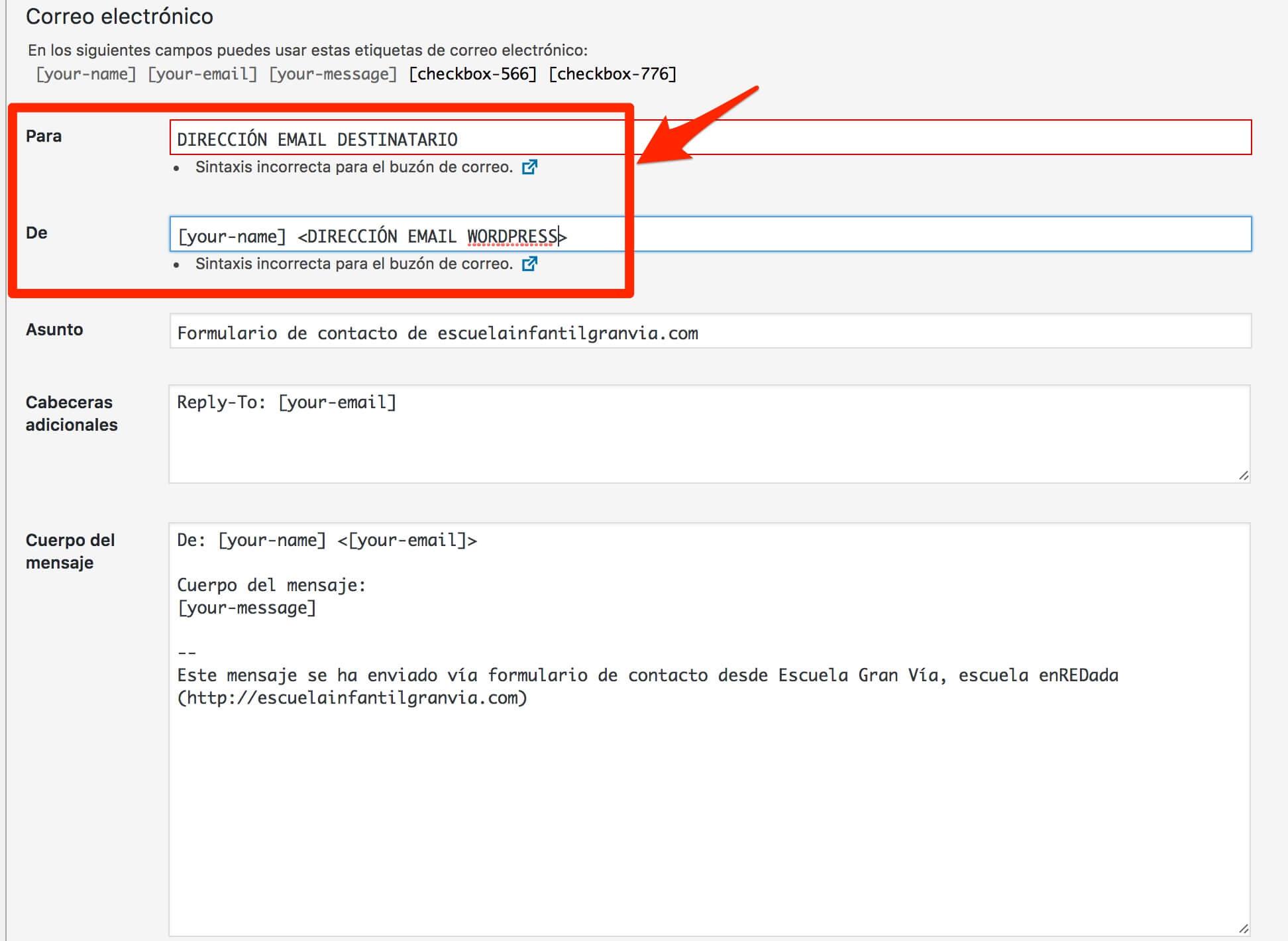 Trucos de Contact Form 7 para WordPress: formularios de contacto fáciles
