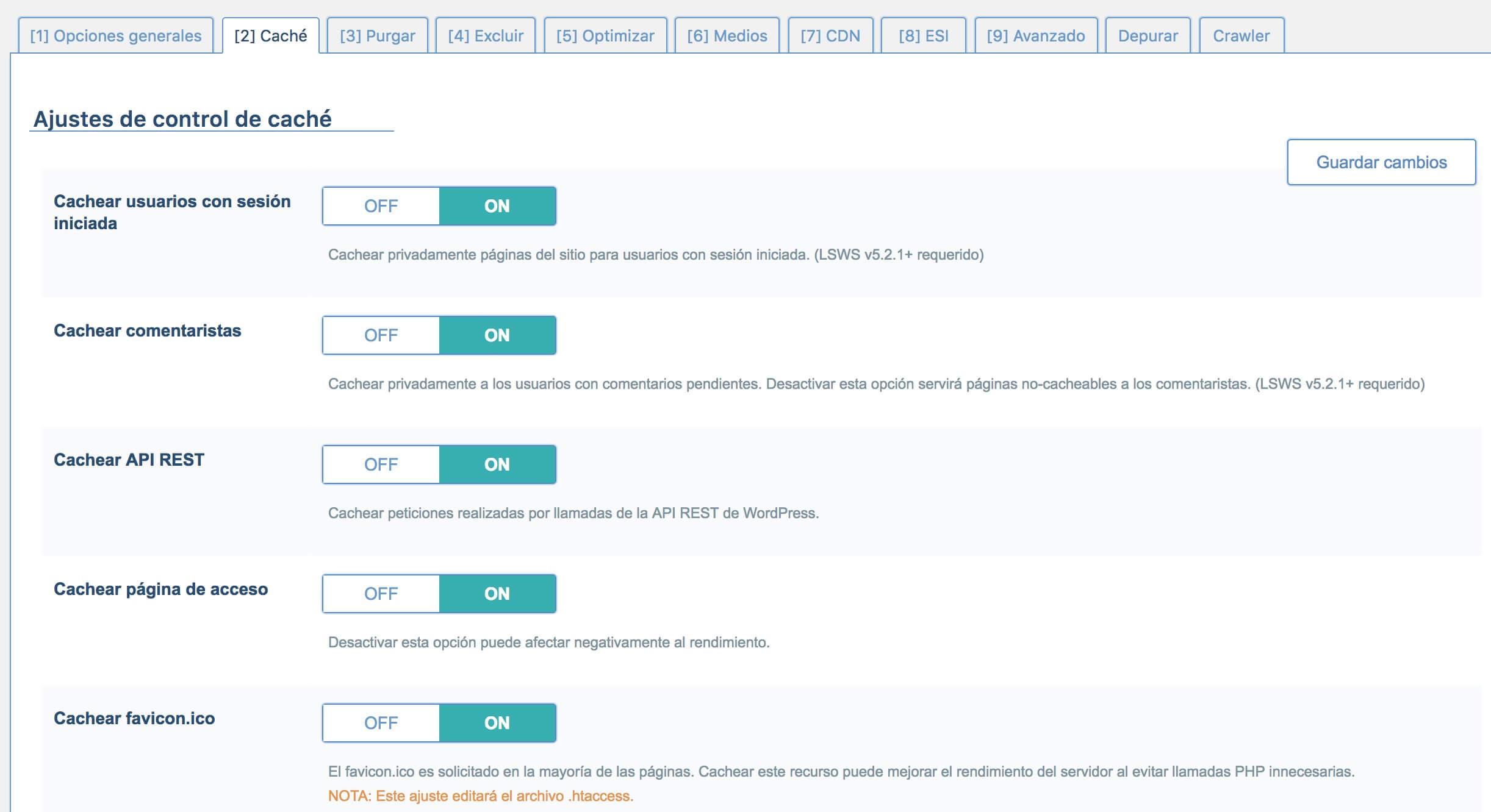 litespeed-2-1 Cómo configurar el plugin de WordPress LiteSpeed para Host-Fusion