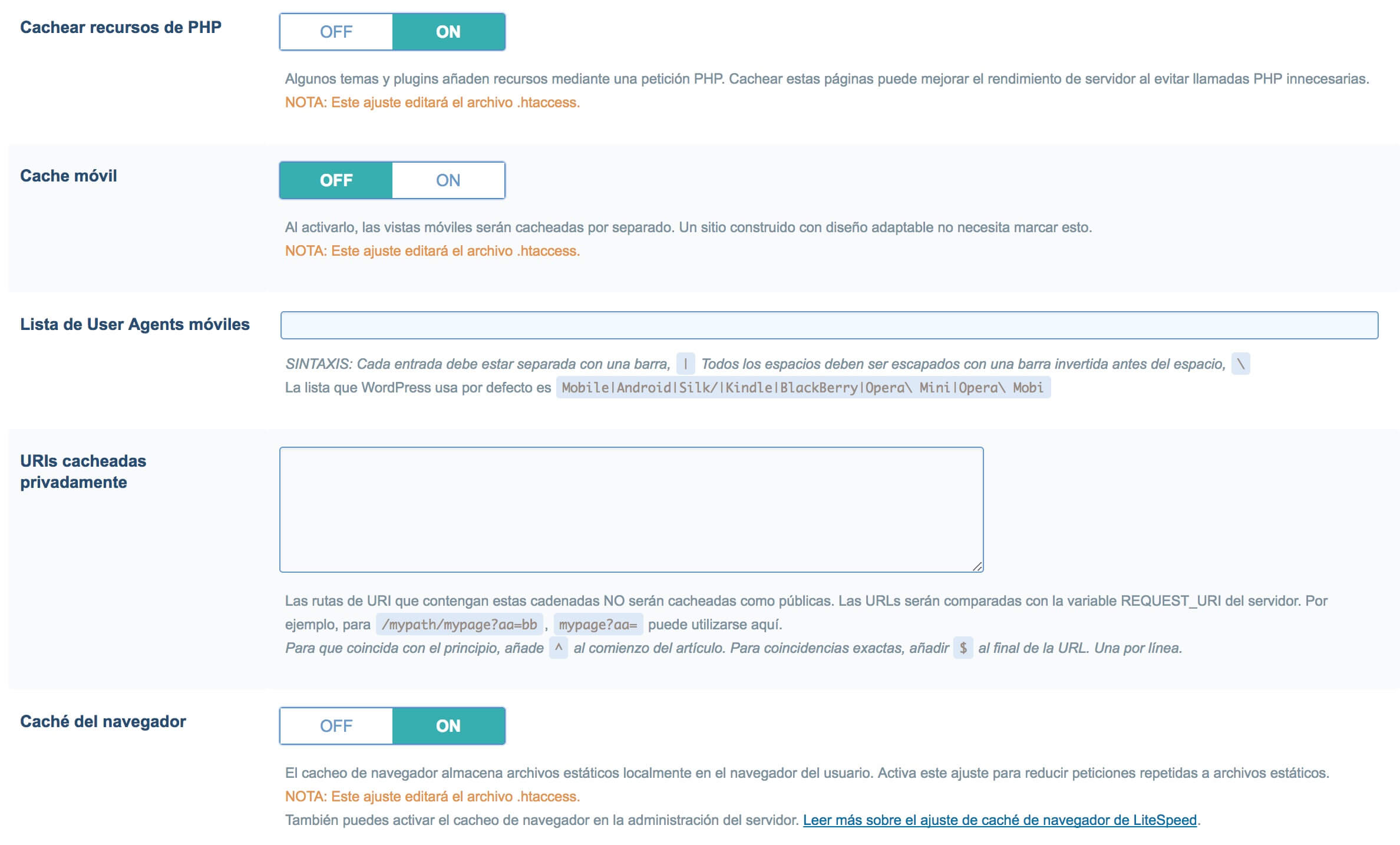 litespeed-3 Cómo configurar el plugin de WordPress LiteSpeed para Host-Fusion