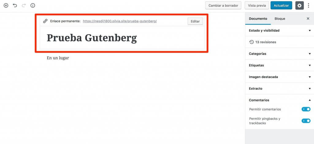 gutenberg-5-1024x472 Gutenberg de WordPress 5.0: qué es y cómo funciona el nuevo editor