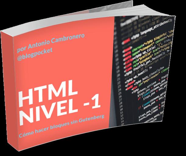 HTML-BASICO-TRANSPARENTE Cómo crear bloques div HTML, fácil y sin Gutenberg - Videotutorial y PDF