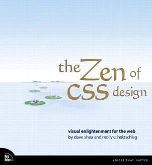 The_Zen_of_CSS_Design-cover Cómo crear bloques div HTML, fácil y sin Gutenberg - Videotutorial y PDF