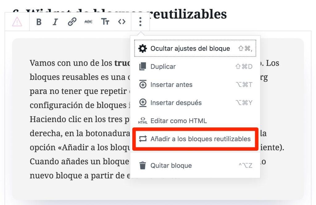 reusable-blocks-2-1024x665 Recursos y trucos de Gutenberg: 10 maneras de exprimirlo a fondo
