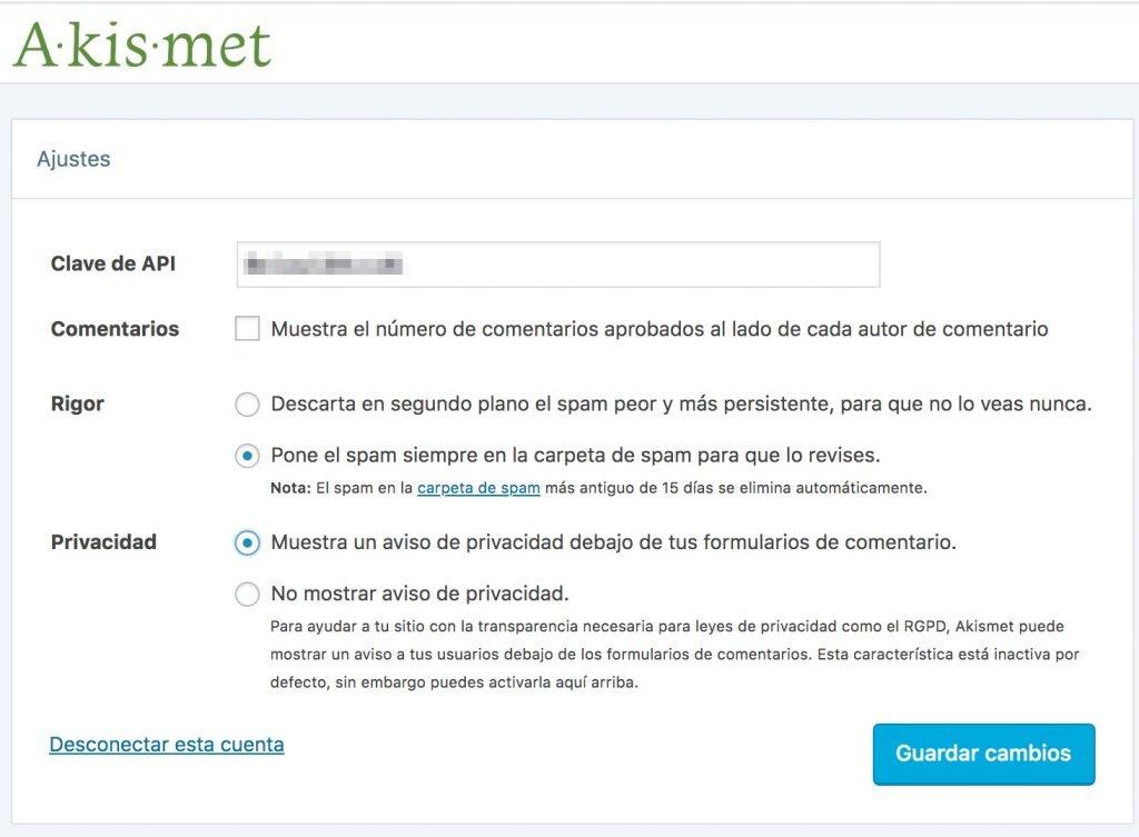 akismet-14-1024x753 Akismet, plugin de WordPress antispam