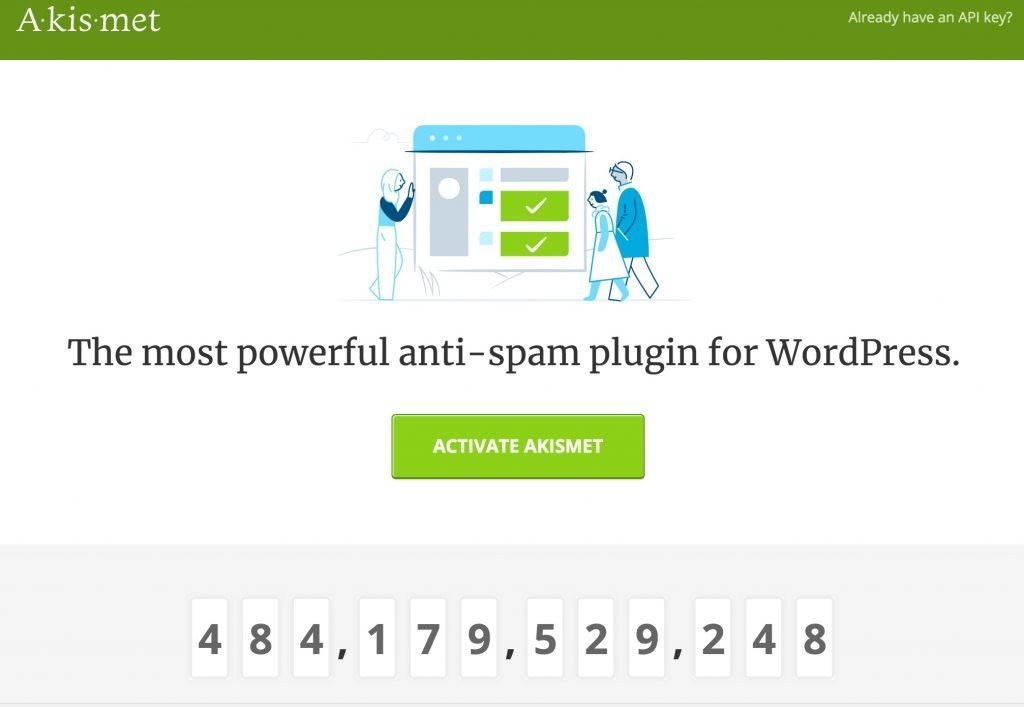 akismet-4-1024x707 Akismet, plugin de WordPress antispam