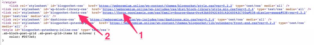 google-fonts-1-1024x147 Cómo modificar el tipo de letra de Google Fonts de cualquier theme de WordPress