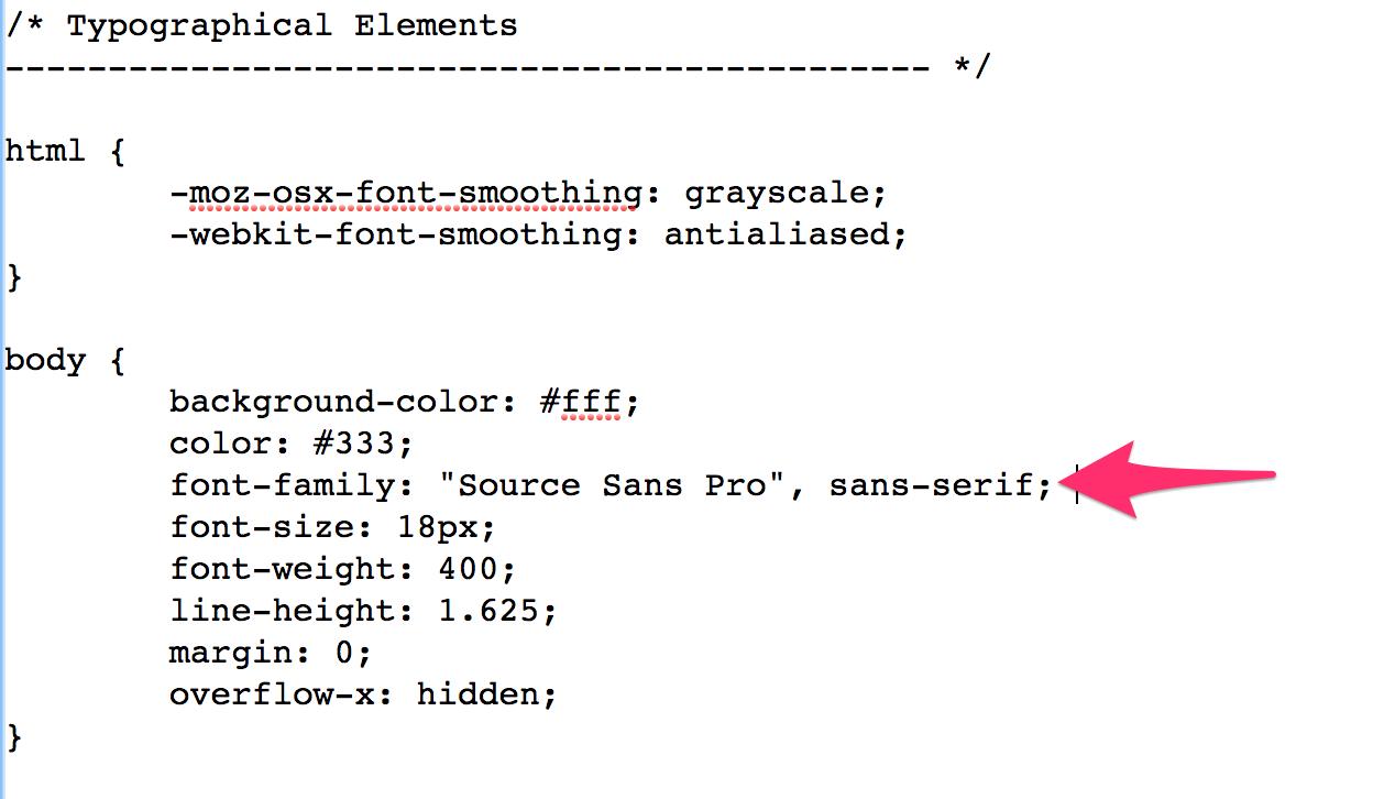 google-fonts-2 Cómo modificar el tipo de letra de Google Fonts de cualquier theme de WordPress
