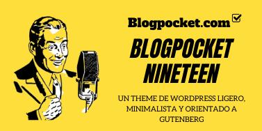 BLOGPOCKET-NINETEEN-2 Página de inicio