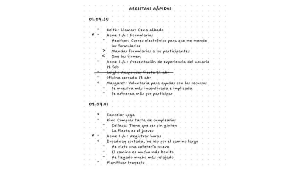 BULLET-JOURNAL-TAREAS- 1024x576 El método Bullet Journal y Simplenote