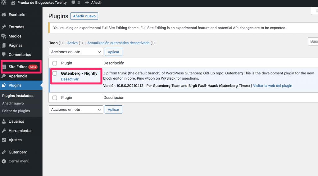 BLOGPOCKET-20-1-1024x568 Blogpocket Twenty 2.0: cómo probar la Edición del Sitio Completo (FSE, por sus siglas en inglés)