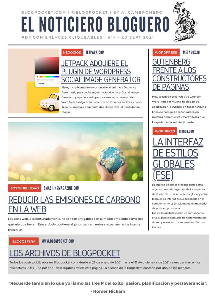 NOTICIERO-BLOGUERO-14-724x1024 La locura de los weblogs dentro de uno - Boletín 241