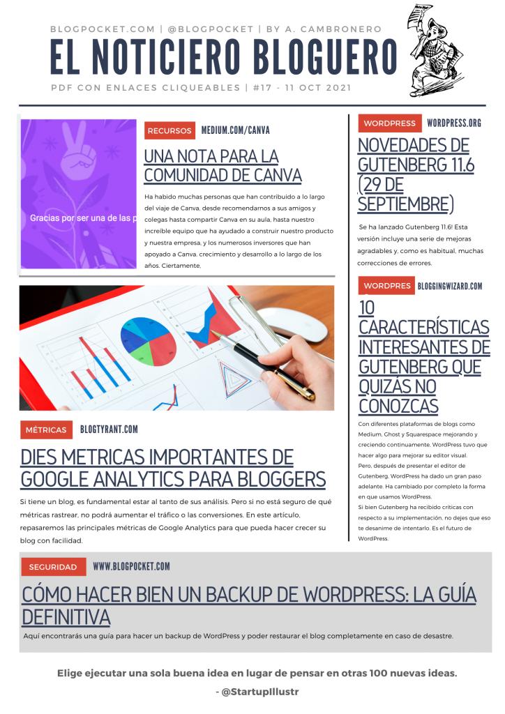 NOTIICIERO-BLOGUERO-17-724x1024 La locura de los weblogs dentro de uno - Boletín 244