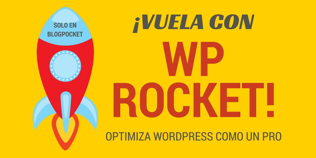 OPTIMIZAR-WORDPRESS-CON-WP-ROCKET Cómo configurar WP Rocket y poner WordPress en un cohete
