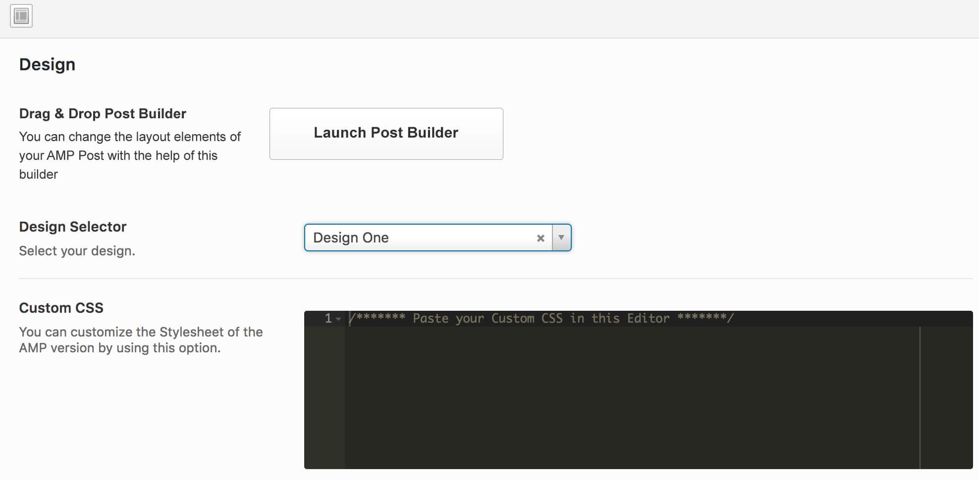 amp-diseno-1 Cómo configurar Google AMP para un blog de WordPress