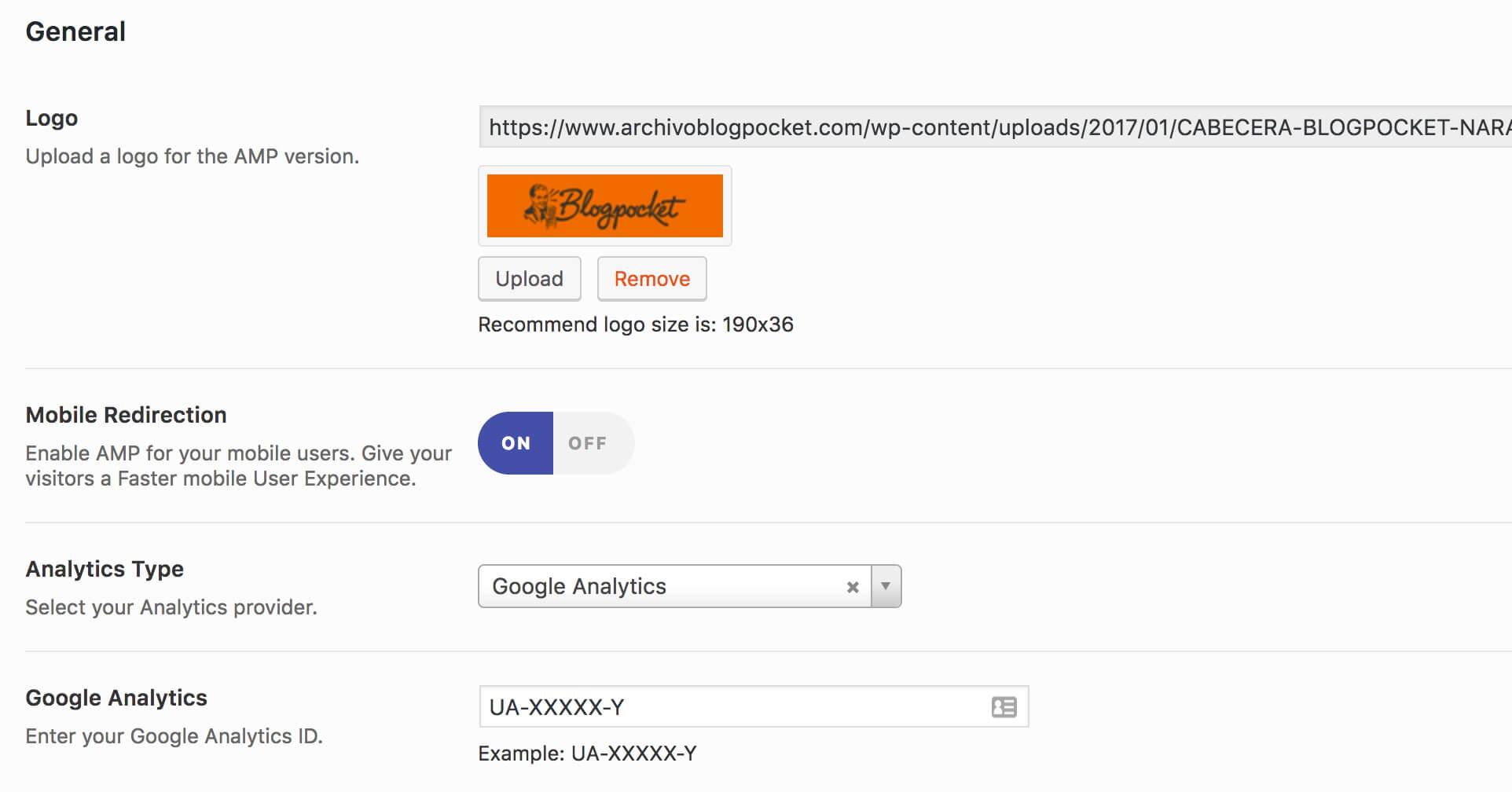 amp-general Cómo configurar Google AMP para un blog de WordPress