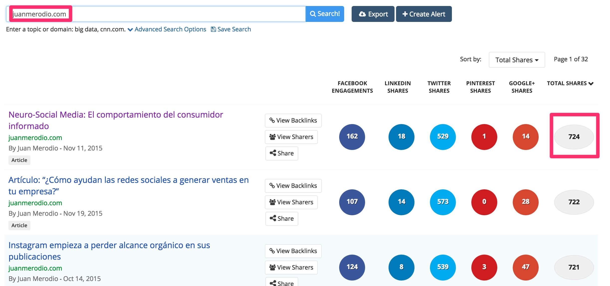 buzzsumo-1 El mejor contenido viral de marketing digital en español y cómo lo he encontrado