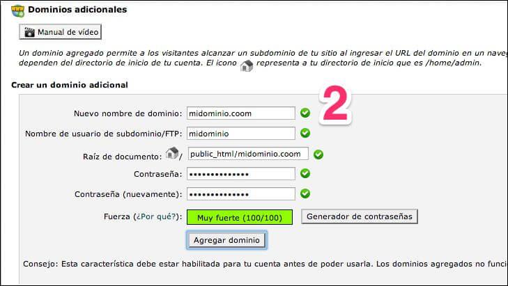 crear-domnio-2 Cómo configurar un dominio para un blog de WordPress