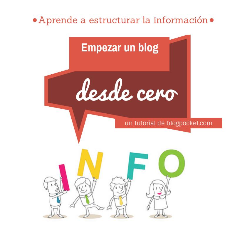 empezar-un-blog-desde-cero-estructura-de-la-informacion-2 Cómo estructurar la información en un blog y cómo organizarlo