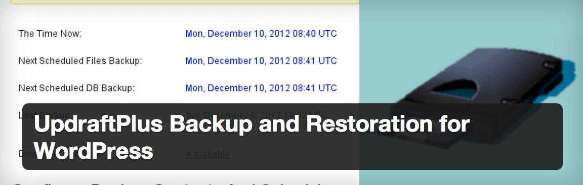 updraftplus-plugin Las 10 medidas de seguridad imprescindibles en WordPress