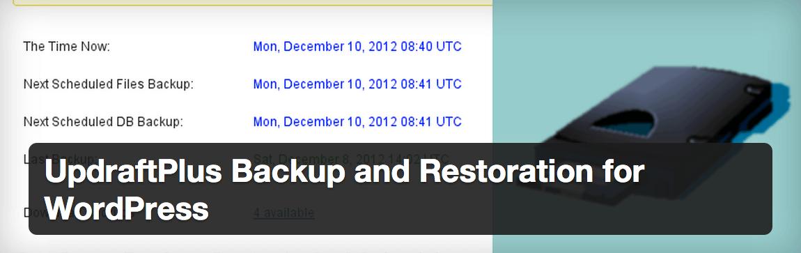 updraftplus Cómo hacer bien un backup de WordPress: la guía definitiva
