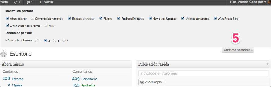 wp-como-publicar-posts-2 Qué es el dashboard de WordPress y cómo publicar contenidos