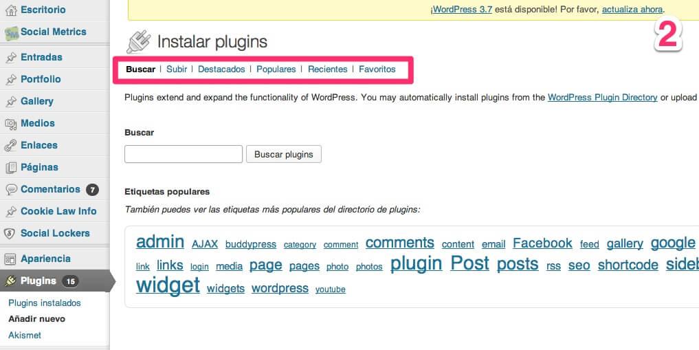 wp-plugins-2 Plugins de WordPress, qué son y cómo se gestionan