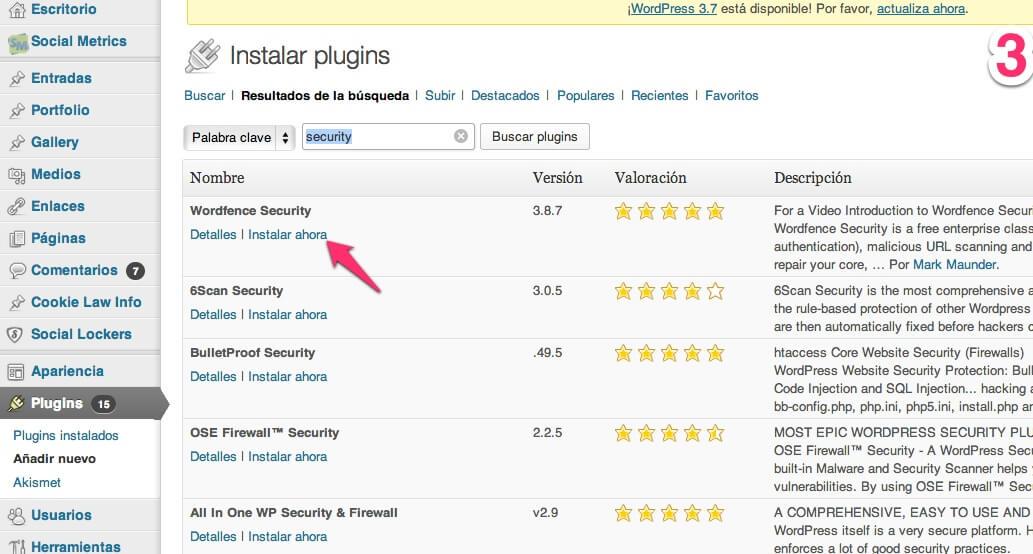 wp-plugins-3 Plugins de WordPress, qué son y cómo se gestionan